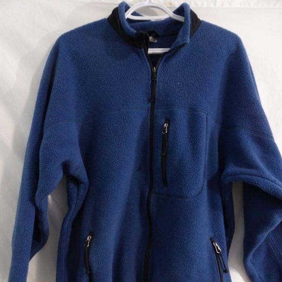 Mountain Equipment Co-Op, xxl, blue, fleece zip up